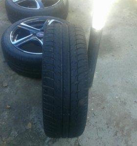 16 литые диски и шины