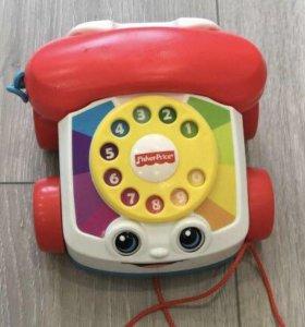 Телефон-каталка Fisher Price