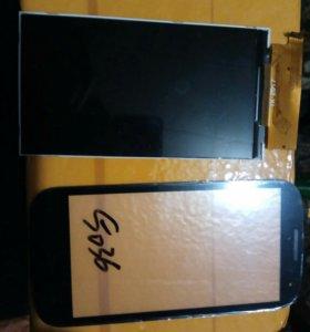 Жк дисплей и тачскрин на алкатель с5