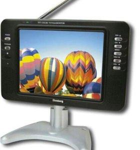 Переносной цветной телевизор Elenberg TV-807