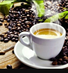 Кофе натуральный в зернах и молатый