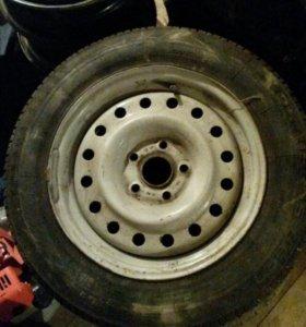 3 колеса 195/65 R15