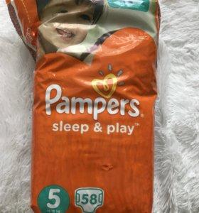 Подгузники Pampers 5