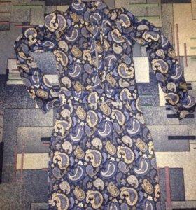 Платье плотное