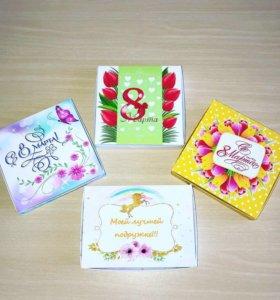 Коробочки с конфетками на любой праздник