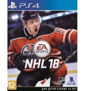 Игра NHL18 для PS4