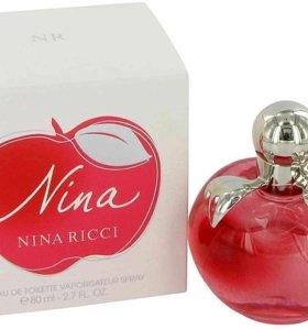 Духи женские Nina Ricci NINA 80ml(Туалетная вода)