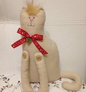 Мартовский котик, ручная работа