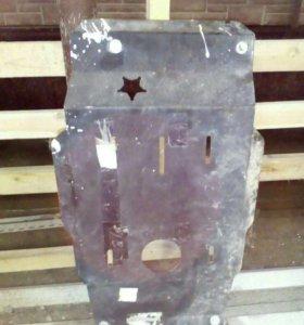 Защита картера коробки передач и раздатки на УАЗ