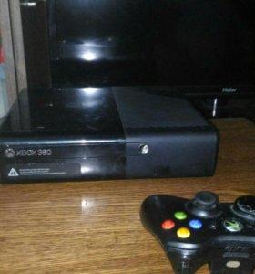 Xbox 360. 500Гбайт. 2 джойстика 3 игры