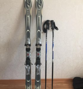 лыжи горные женские