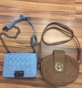 Женская сумочка коричневая