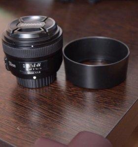 Объектив YONGNUO 50mm F 1.8N для Nikon