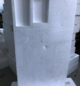 Пенопласт-блоки размер ~ 1,3 х 0,67 х 0,25 метра