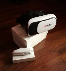 Очки виртуальной реальности и пульт