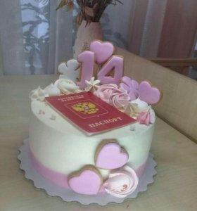 Домашние торты на заказ.