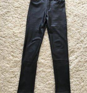Новые штаны из кожзама