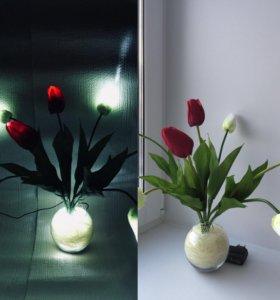 Светильник «Тюльпаны»