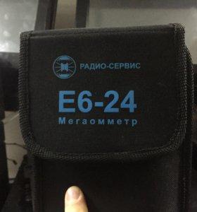 Мегаомметр Е6-24