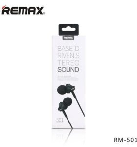 Наушники Remax, Base-D Riven RM-501