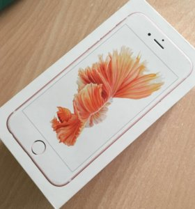 Коробка iPhone 6s 32 GB Rose Gold