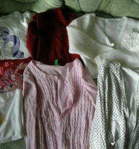 Одежда 116-122 на девочку