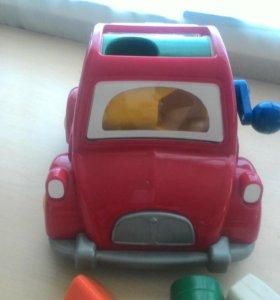 Машинка, развивающая игрушка, Сhicco(италия)
