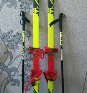 Детские лыжи 🎿...