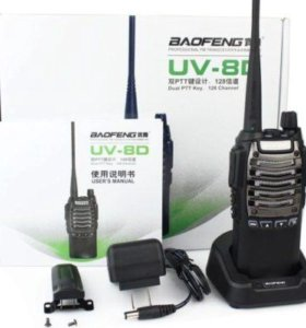 Рации Baofeng UV-8D