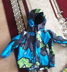 Новая зимняя куртка и шапка рейма