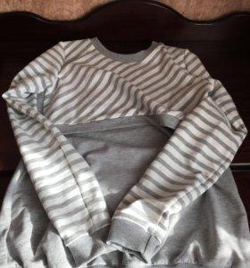 Свитшот для кормления и беременных