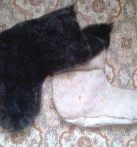 угги-носки овчина очень тёплые новые