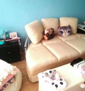 Диван кровать ikea беж