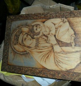 Картины из дерева