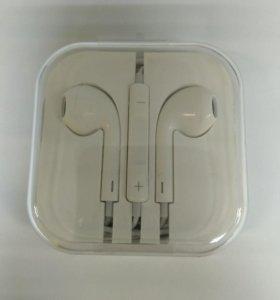 Наушники Apple EarPods (3.5 мм) новые