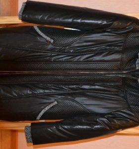 Куртка зимняя, удлиненная
