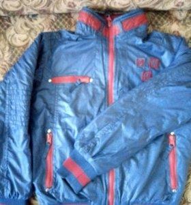 куртка мальчик (двухсторонняя)
