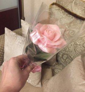 Цветок из мыла