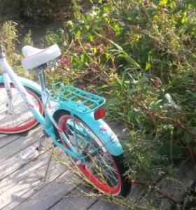 Велосипед подростковый для девочки