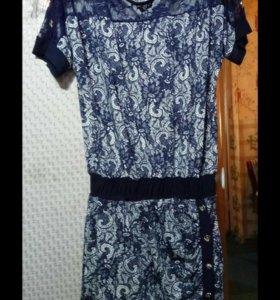 Продаю новое платье туника,,48, размера.