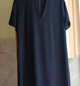 Платье с чокером 48р.