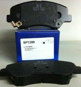 Sangsin brake SP1399 Колодки тоpмозные, пеpедние