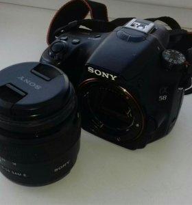 Зеркальный фотоаппарат Sony SLT-A58