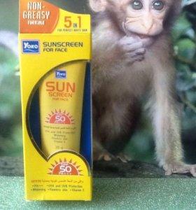 Тайский солнцезащитный крем Yoko