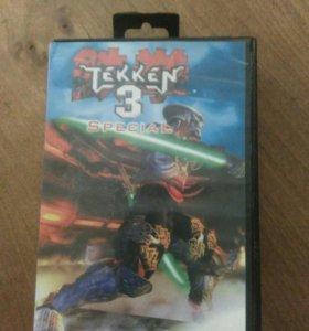 Картридж для сега TEKKEN 3.