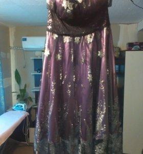 Платье нарядное на выход.