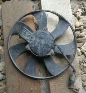 Вентилятор охлаждения радиатора кондиционера Акцен