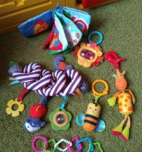 Развивающие игрушки/подвески