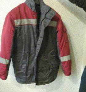 Спецодежда (куртка и полукомбинезон зимний) Новый