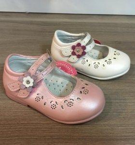Туфли для девочек р. 21,22,23,24, 26